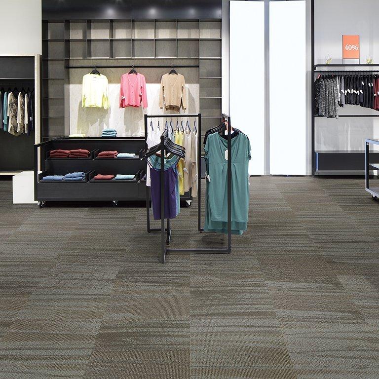 Tulle Modular Carpet Mannington Commercial